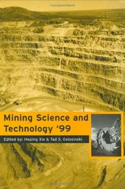 Cover of: Mine Science & Technology 1999 | Xie