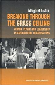 Cover of: Breaking Through the Grass Ceiling | M. Alston