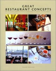 Cover of: Great Restaurant Concepts | Ronald Huiskamp