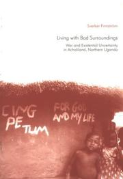 Cover of: Living with bad surroundings by Sverker Finnström