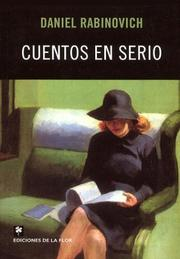 Cover of: Cuentos en serio by Daniel Rabinovich