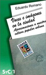 Cover of: Voces E Imagenes En LA Ciudad by Eduardo Romano