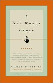 Cover of: A new world order | Caryl Phillips