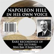 Cover of: Napoleon Hill in his own voice | Napoleon Hill