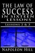 Cover of: The Law of Success , Volume II & III | Napoleon Hill