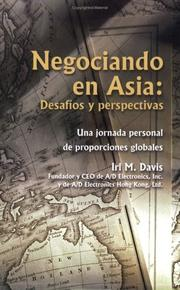 Cover of: Negociando en Asia by Irl M. Davis