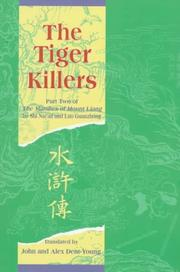 Cover of: The Tiger Killers | John Dent-Young