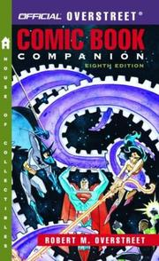 Cover of: The Official Overstreet Comic Book Companion Price Guide, 8th edition (Overstreet Comic Book Companion) | Robert M. Overstreet