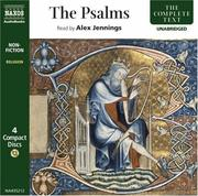 Cover of: The Psalms | Alex Jennings