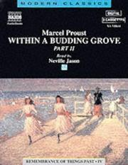 Cover of: Within a Budding Grove (Remembrance of Things Past, 4) by Marcel Proust