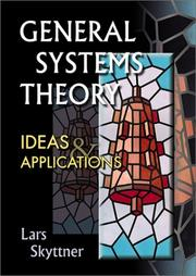 Cover of: General Systems Theory | Lars Skyttner