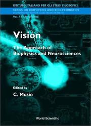 Cover of: Vision | International School of Biophysics (1999 Casamicciola Terme, Italy)