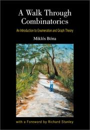 Cover of: A Walk Through Combinatorics by Miklos Bona