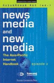 Cover of: News Media and New Media | Madanmohan Rao