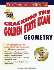 Cover of: Cracking the Golden State Examination | Oliver Butterick