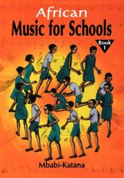 Cover of: African music for school | Mbabi-Katana.