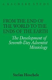 Cover of: From the end of the world to the ends of the earth by Stefan Höschele