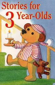 Cover of: Stories for 3 Year-Olds by Sami Sweeten