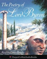 Cover of: The Poetry of Lord Byron | Lord George Gordon Byron