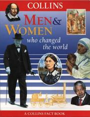 Cover of: Men and Women Who Changed the World by Fiona MacDonald