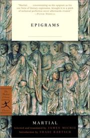 Cover of: Epigrams by Marcus Valerius Martialis