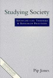 Cover of: Studying Society by Philip Jones