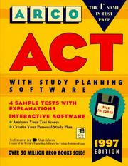 Cover of: ACT | Joan U. Levy, Norman Levy