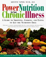 Cover of: Power Nutrition for Your Chronic Illness | Kristine Napier