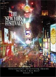 Cover of: The New York Festivals | New York Festivals
