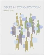 Cover of: Issues in Economics Today | Robert Guell