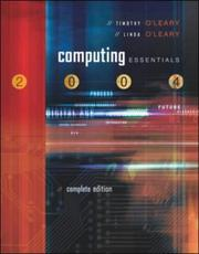 Cover of: Computing Essentials | Timothy J. O'Leary