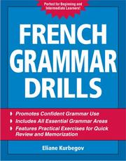 Cover of: French Grammar Drills by Eliane Kurbegov