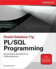 Cover of: Oracle Database 11g PL/SQL Programming | Michael McLaughlin