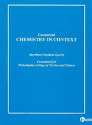 Cover of: Chemistry | Acs