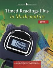 Cover of: Timed Readings Plus in Mathematics | McGraw-Hill - Jamestown Education