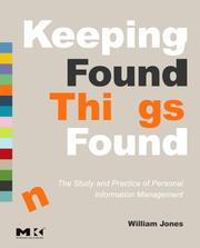 Cover of: Keeping Found Things Found | William Jones