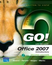 Cover of: GO! with Office 2007 Introductory (2nd Edition) (Go! Series) | Shelley Gaskin