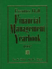 Cover of: Prentice Hall Financial Management Yearbook 1997 | Jae K. Shim