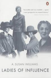 Cover of: Ladies of Influence | A.Susan Williams