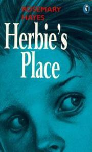 Cover of: Herbie's Place | Rosemary Hayes