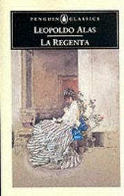 Cover of: La Regenta | Leopoldo Alas