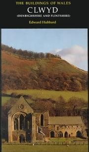 Cover of: Clwyd (Buildings of Wales) | Edward Hubbard