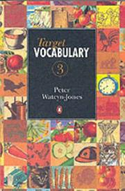Cover of: Target Vocabulary (Test Your) | Peter Watcyn-Jones