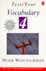 Cover of: Test Your Vocabulary | Peter Watcyn-Jones