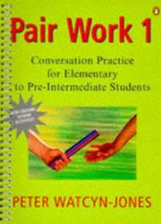 Cover of: Pair Work | Peter Watcyn-Jones