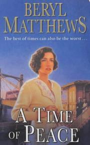 Cover of: A Time of Peace | Beryl Matthews