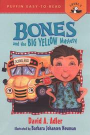 Cover of: Bones and the Big Yellow Mystery #1 by David A. Adler