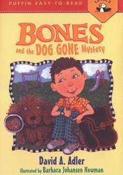 Cover of: Bones and the Dog Gone Mystery #2 by David A. Adler