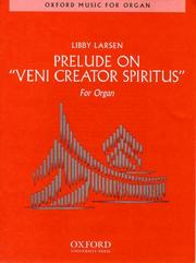 "Cover of: Prelude on ""Veni Creator Spiritus"" by Libby Larsen"