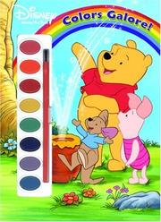 Cover of: Colors Galore (Paint Box Book) | RH Disney